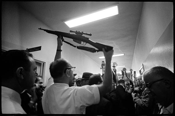 Oswald's Gun, Dallas Police Station, Dallas, Texas, November 23, 1963