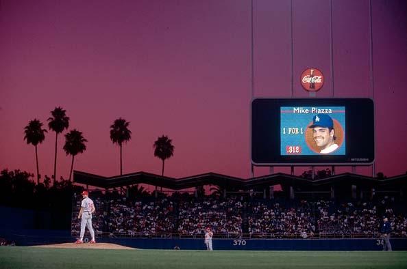 Dodger Stadium, Los Angeles, CA, 1992