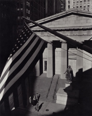 Treasury Building, New York, 1957