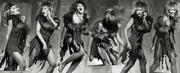 Tina Turner, Los Angeles, 1983