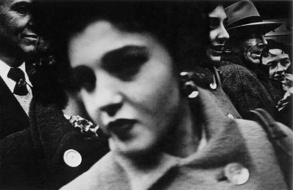 Big Face, Big Buttons, New York, 1955