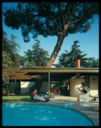 Case Study House #20, C. Buff, C. Straub, and D. Hensman, Altadena, California, 1958