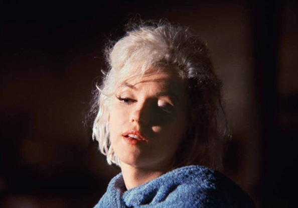 """Marilyn Monroe (close-up), 'Something's Got to Give"""", May 23, 1962"""