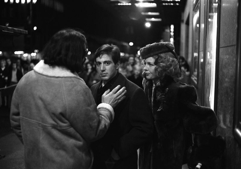 The Godfather (Coppola, Pacino, Keaton), New York City, 1971