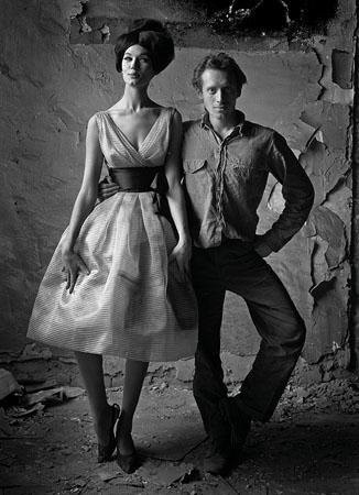 Simone + Me, Bazaar, New York, 1960