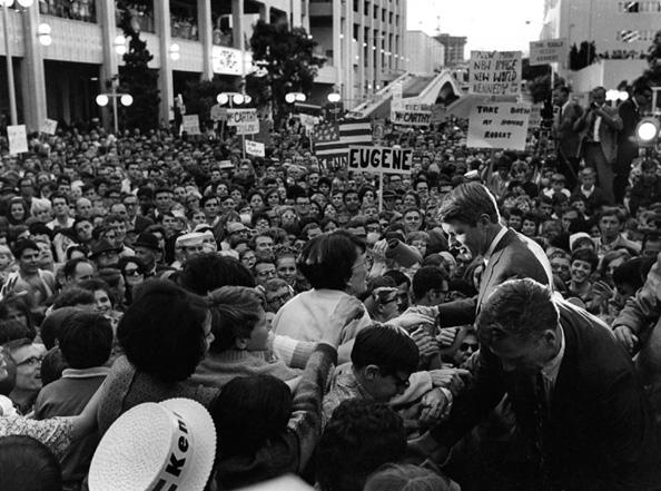 Robert Kennedy, San Diego, 1968
