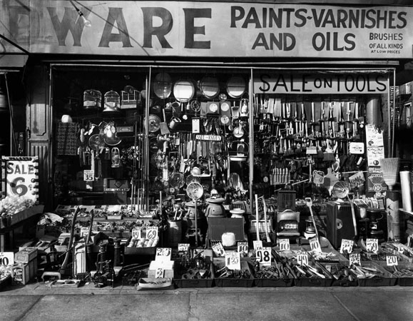 Hardware Store, New York, 1938