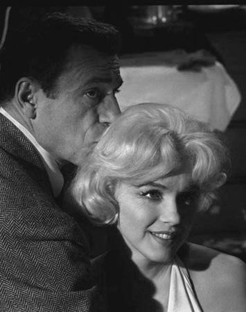 Marilyn Monroe & Yves Montand, 1960