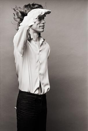 Mick Jagger, Los Angeles, 1972