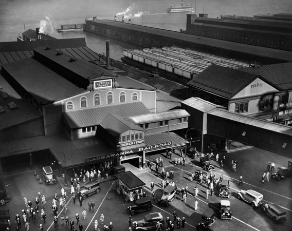 Hoboken Ferry Terminal, New York, 1935