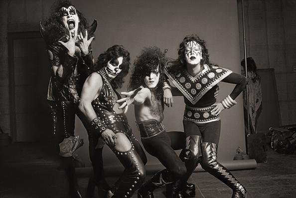 KISS, Los Angeles, 1975