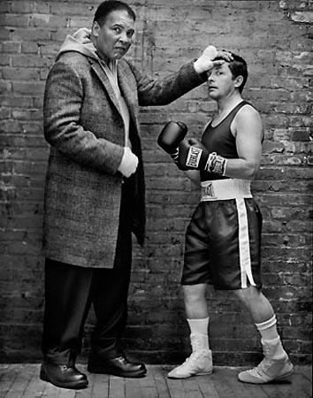 Michael J. Fox and Muhammad Ali, 2004