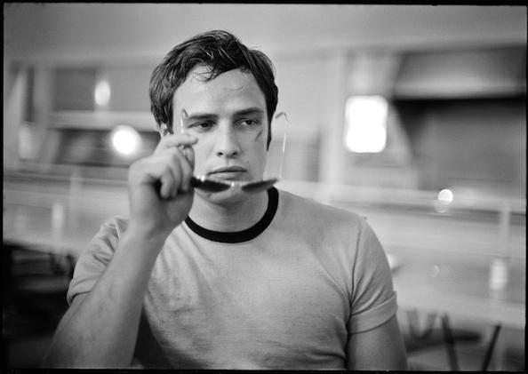 Marlon Brando, (Holding Sunglasses), 1954