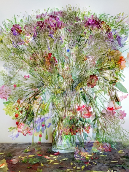 abelardo morell flowers for lisa