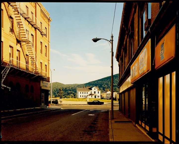Stephen Shore Holden Street North Adams Massachusetts July