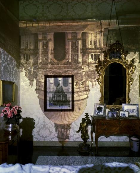 Abelardo Morell Camera Obscura Santa Maria della Salute Inside Palazzo Bedroom Venice Italy