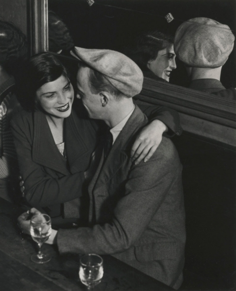 brassai Couple at the Bal Des Quatre Saisons Rue de Lappe