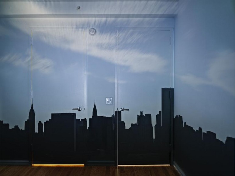 Abelardo Morell Camera Obscura Late Afternoon View of the East Side of Midtown Manhattan