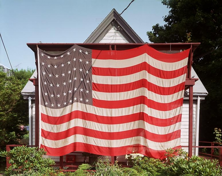 joel meyerowitz flag provincetown july 4th