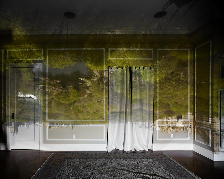 Abelardo Morell Camera Obscura of Central Park Looking North Spring