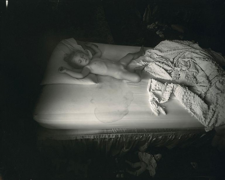 sally mann wet bed