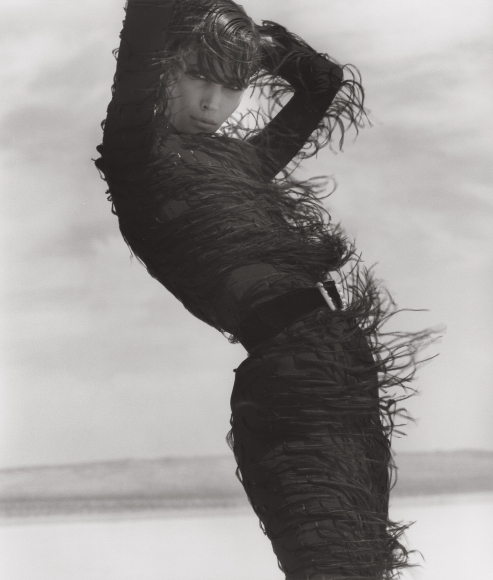 herb ritts christy turlington versace el mirage