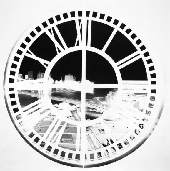 vera lutter Clock Tower Brooklyn XLIV
