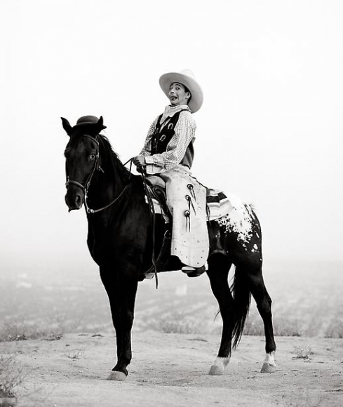 herb ritts pee wee on horse los angeles