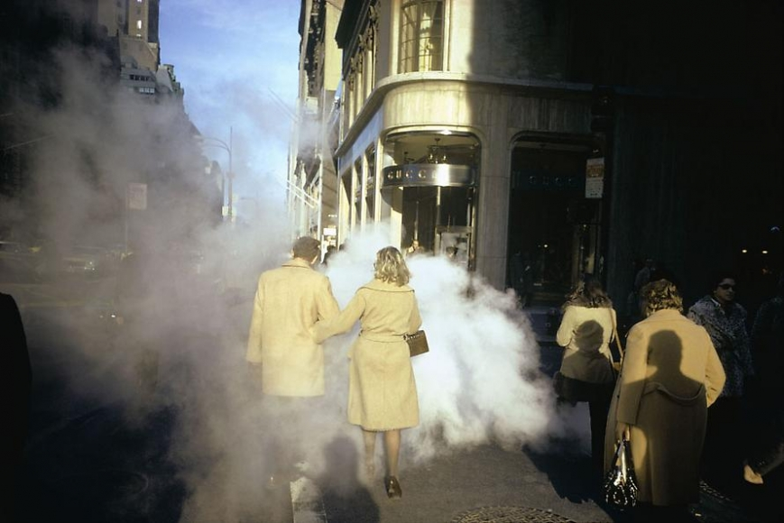 Joel Meyerowitz camel coats 5th avenue new york city