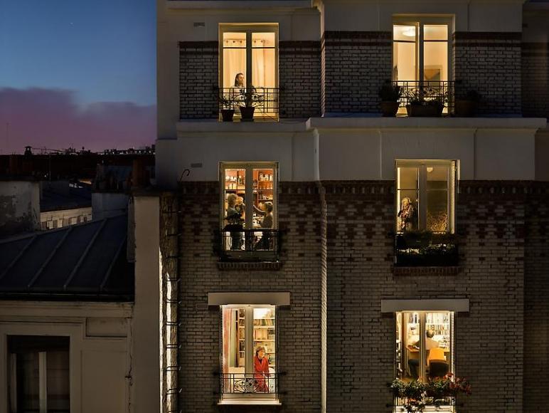 Gail Albert Halaban Rue de Belleville Paris