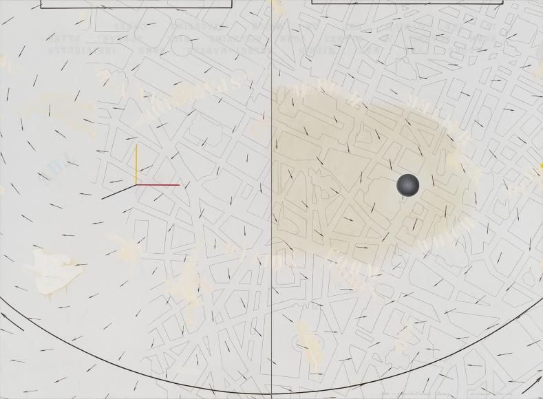 Arakawa, Non-Gravitational Being, 1983-84