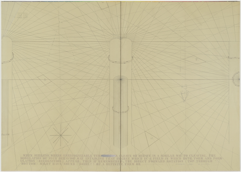 Arakawa, Degrees of Return, 1975