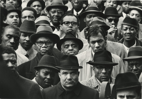 Gordon Parks, Black Muslim Rally, Harlem, New York