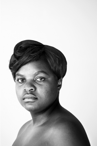 Maureen Velile Majola, Parktown, Johannesburg, from the series Faces & Phases, 2013, Gelatin Silver Print, 30 x 20 inches