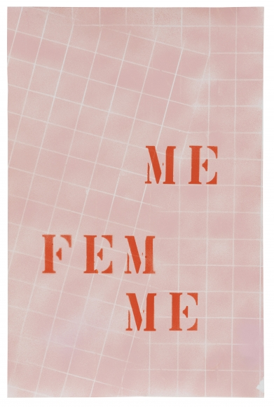 MONICA BONVICINI, Me Fem(2020)