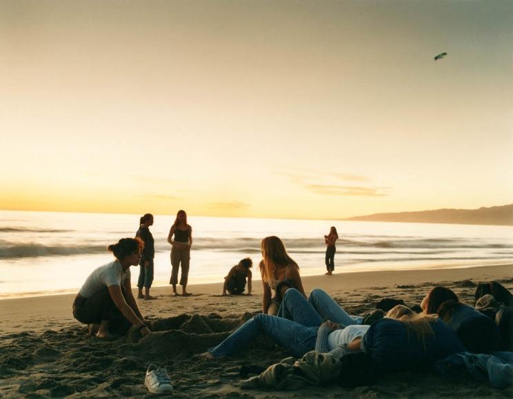 JUSTINE KURLAND Sunset Beach 2000