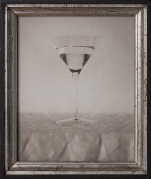 Jefferson Hayman, The New Martini, 2017, pigment print, antique silver frame, Edition of 12, photography