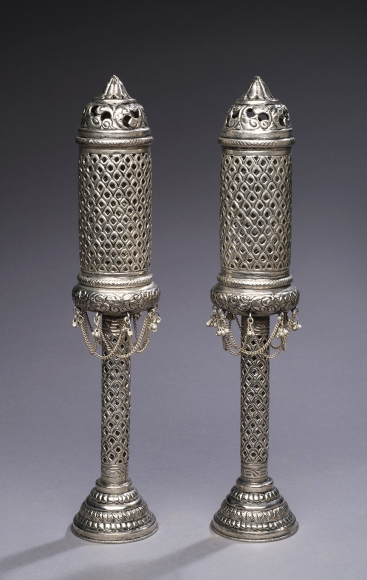 Pair of Pierced Lanterns