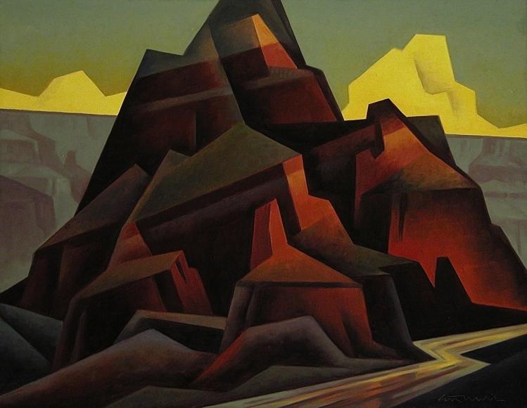 Canyon Monolith, Ed Mell