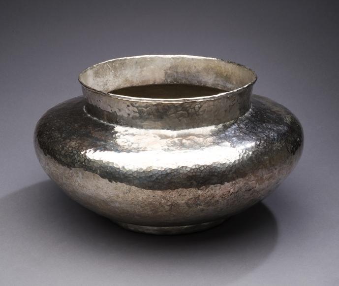 Hand Hammered Pot