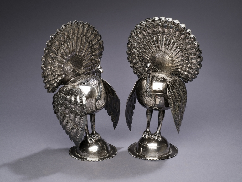 Pair of Turkey Censers