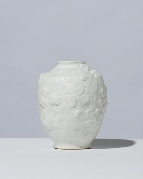 Ovoid Bisque Vase Artworks Jason Jacques