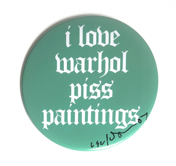 Cary Leibowitz, I Love Warhol Piss Paintings