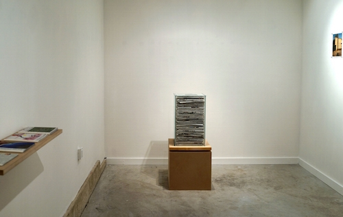 Installation view Measured Against What
