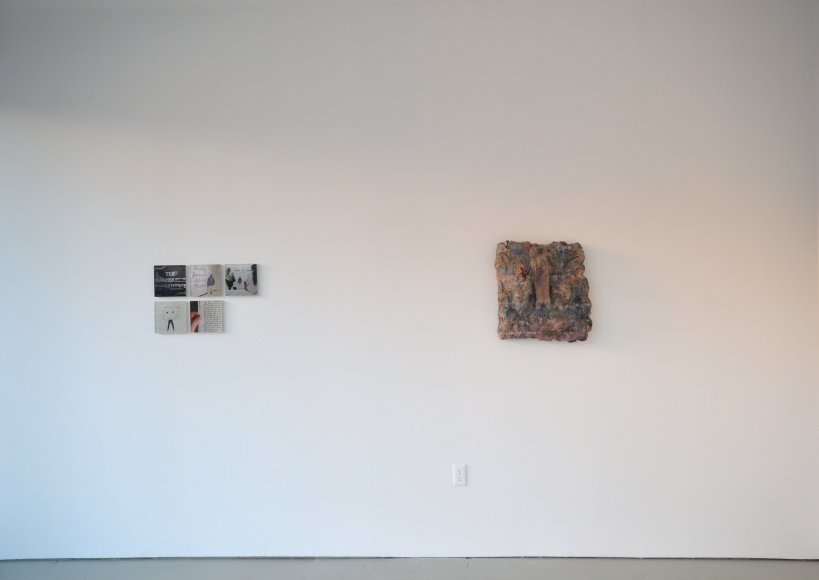 Installation view Nude Model