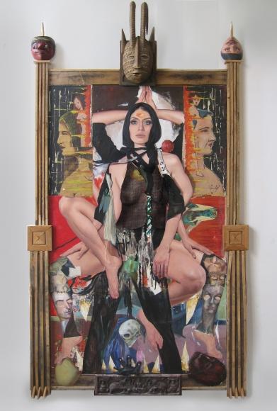 James Gortner painting