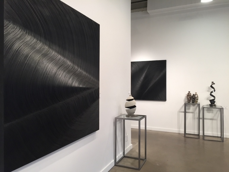 Installation View Stroke Of Genius Featuring James Austin Murray Michael Boroniec Rodger