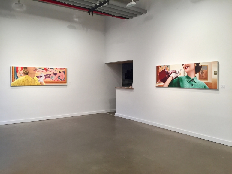 Installation view Rapture by James Rieck