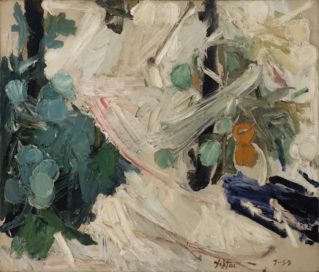 Manoucher Yektai, Tomato Plant, Midsummer, 1959
