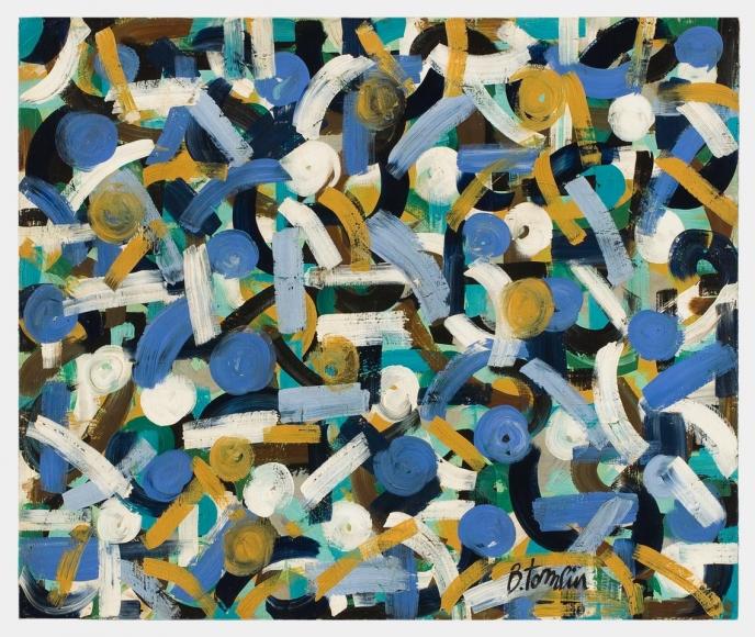 Bradley Walker Tomlin, Untitled abstract, c. 1952